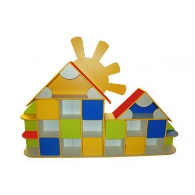 Стенка Солнышко (2610*360*1880h) для детского сада