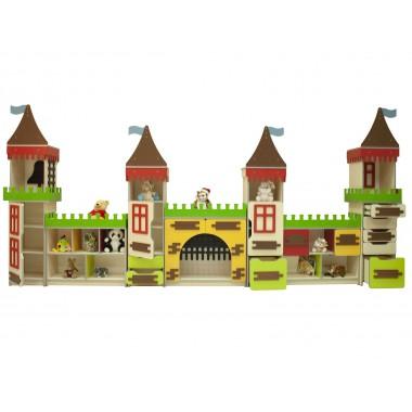 Cтенка детская Высокий замок (4420*380*2020h)