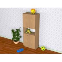 Шкаф детский Д-1 (600*320*1500h)