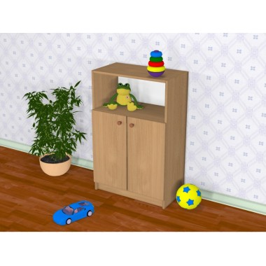 Шкаф детский Д-6 (600*320*929h)