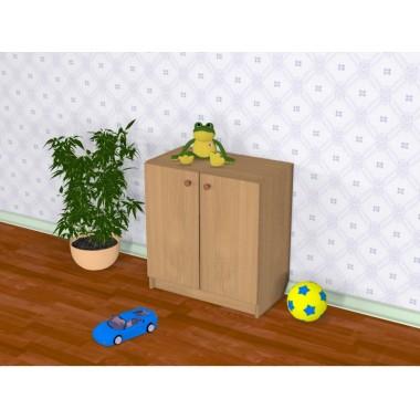 Шкаф детский закрытый Д-8 (600*320*648h)