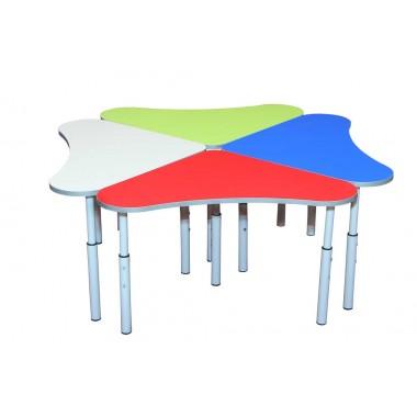 Детский стол Колокольчик регулируемый 600х600х460-580 мм.