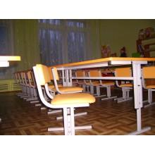 Столы и стулья для детского сада регулируемые