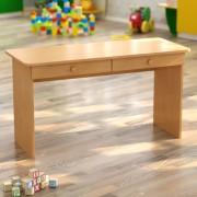 Стол двухместный детский с ящиками (1100*450*h)