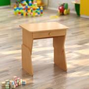 Стол одноместный с ящиком регулируемый (550*450*h)