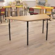 Дитячий стіл Трапеція з регулюванням висоти 1040*450*h