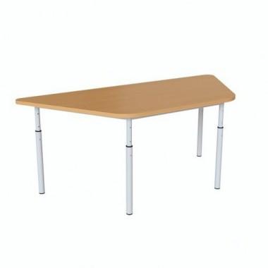 Детский стол трапеция 1040х450х460-580 мм.