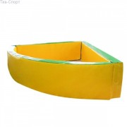Сухой бассейн угловой 150-150-40 см
