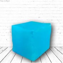 Бескаркасный пуфик Кубик