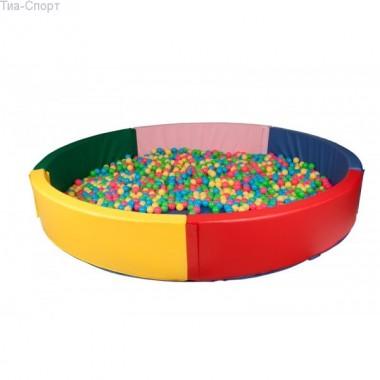 Сухой бассейн круглый 200*40 см