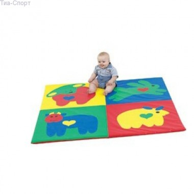 Развивающий мат коврик Сафари