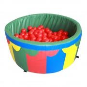 Сухой бассейн для дома с шариками 100*40*5 см