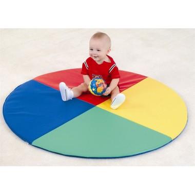 Детский мат-коврик для развития Солнышко , Цвет Blue
