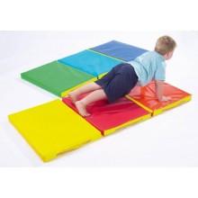 Мат складной детский 150-50-5 см с 3-х частей